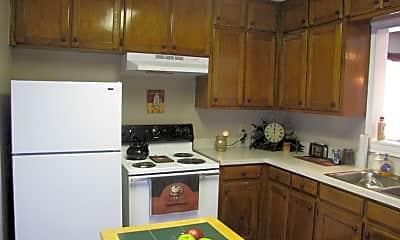 Kitchen, Highland Villas, 0