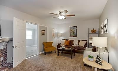 Living Room, 306 NE Florence Ave, 1