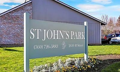 Community Signage, 2610 R St, 1