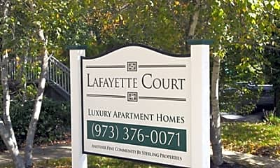 Landscaping, Lafayette Court, 1