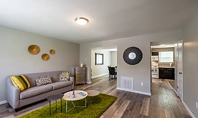 Living Room, The Springs Townhomes, 0