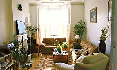 Living Room, 156 Circular St, 1