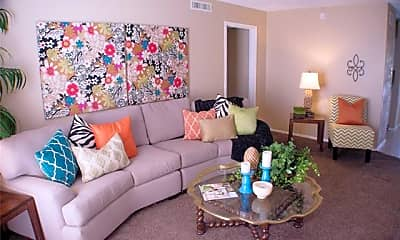 Living Room, 2800 Sayles Blvd 04B, 1