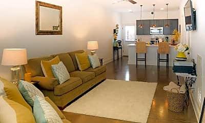 Living Room, Sutherland Flats, 1