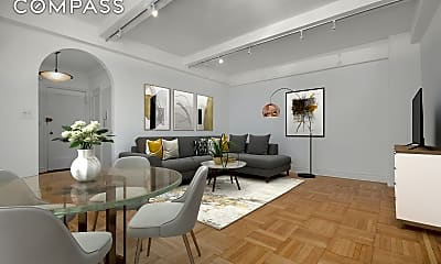 Living Room, 235 West End Ave 9-C, 1