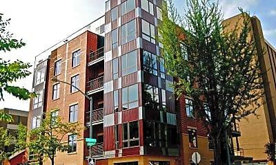 Building, Brooks House Apartments, 0