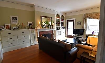 Living Room, 1691 Beacon St, 1