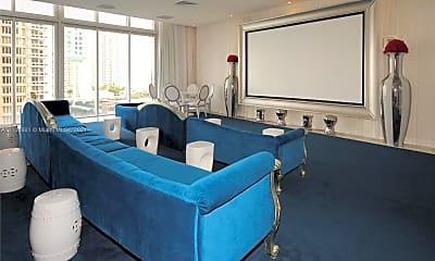 Living Room, 495 Brickell Ave 5009, 1