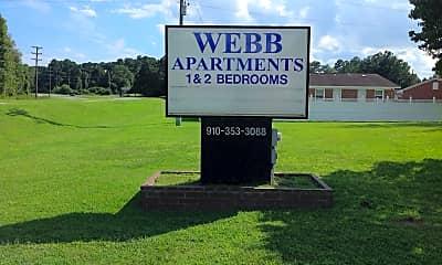 Webb Apartments, 1