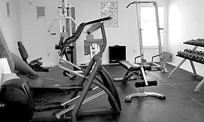Fitness Weight Room, The Lodge, 2