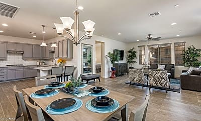 Dining Room, 10260 E White Feather Ln 2027, 0