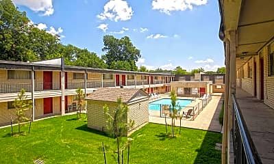 Pool, Victor Apartments, 1