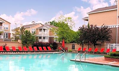 Pool, Steeplechase on Maple, 1