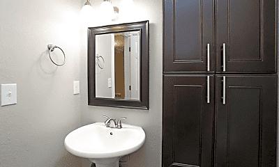 Bathroom, The Boardwalk Apartments, 2