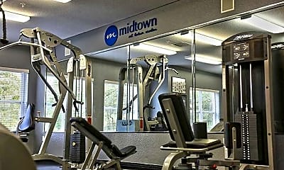 Fitness Weight Room, Midtown At Town Center, 2