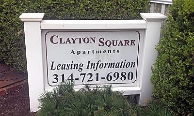 Clayton Square Apartments, 1