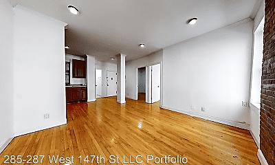 Living Room, 285 W 147th St, 1