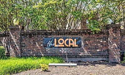 Community Signage, The Local, 2