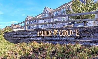 Community Signage, Amber Grove, 1