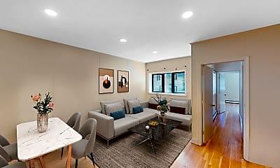 Living Room, 513 Beacon Street, #4, 0