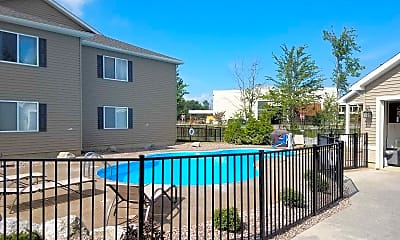 Pool, Brookview Apartments, 1