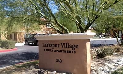 Larkspur Village Family Apartments, 1