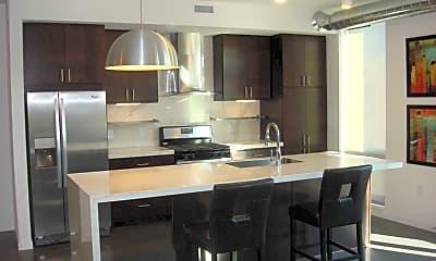 Kitchen, Seventeen10 Apartments, 1