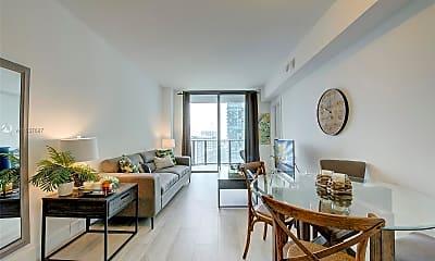 Living Room, 121 NE 34th St 1603, 1