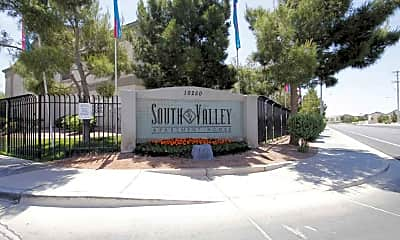 Community Signage, South Valley Apartments, 2