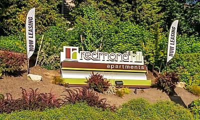 Community Signage, Redmond Hill, 1