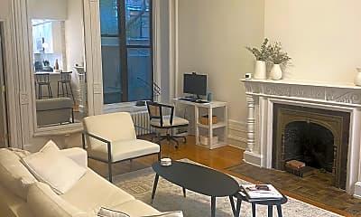Living Room, 54 W 89th St 1-R, 0
