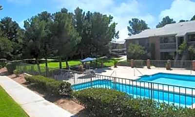 Pool, Whispering Pines, 1