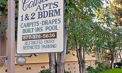Community Signage, Coliseum Apartments, 2