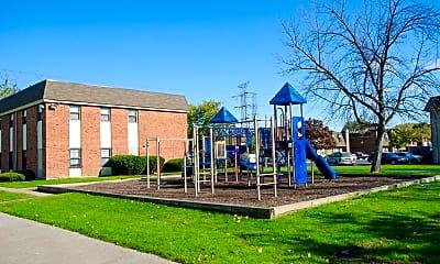 Playground, Riverside Village, 2