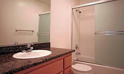 Bathroom, Oakridge Apartments, 2
