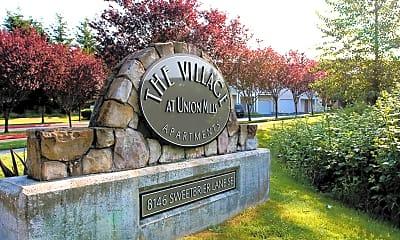 Community Signage, The Village at Union Mills, 0