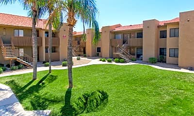 Building, Wind Springs Apartments, 1