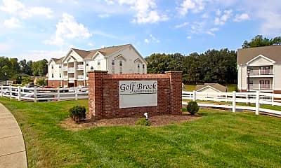 Community Signage, Golf Brook Apartments, 2