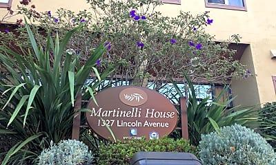 Martinelli House, 1