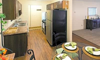 Dining Room, Cedar Valley Apartments, 1