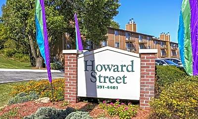 Community Signage, Howard Street Apartments, 1