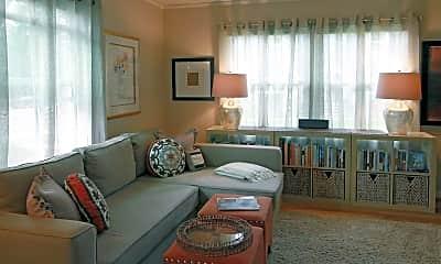 Living Room, Cedar Hills Townhomes, 1