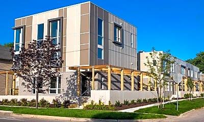 Building, Living at 600 Douglas, 2