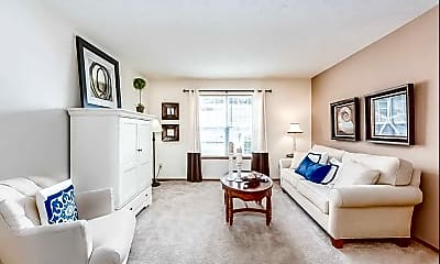 Living Room, Bear Pointe Apartments, 0