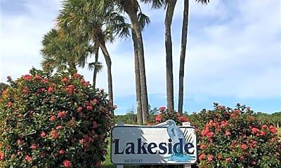 Community Signage, 5564 NE Gulfstream Way, 2
