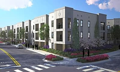 Building, Russell Street Flats, 0