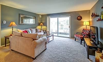 Living Room, Mallard Lake, 1