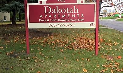 Community Signage, 11644 Dakotah St NW, 0