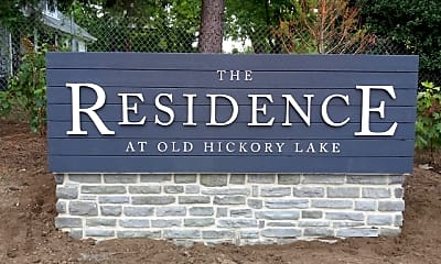 Community Signage, The Residence at Old Hickory, 1