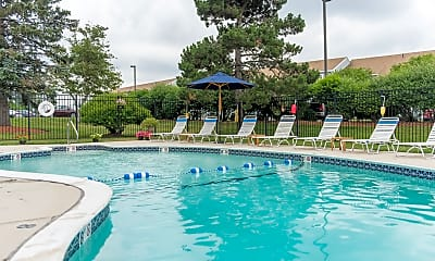 Pool, Bass Point Apartments, 0